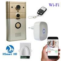720P IP Wireless Bell Camera WiFi Door Peehole Night Vision 3G 4G PIR Video Door Camera