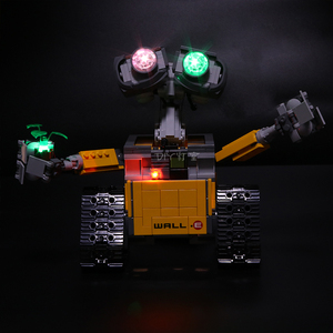 Image 3 - Led Light For Lego 21303 Compatible 16003 Idea Robot WALL E Eyes Flashing Light Building Blocks Toys (only light+Battery box)