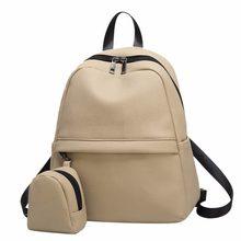 2002d111d91a5 Preppy femmes Mini sacs à dos Zipper Lichi cuir décontracté sacs à  bandoulière nouveau Designer pas cher sacs à dos plecak sac à.