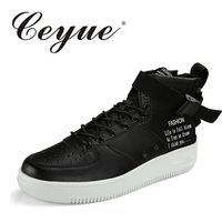 Ceyue New 2017 Spring Autumn Top Fashion Men Casual Shoes Lace Up High Style Footwear Outdoor