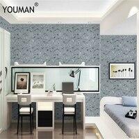 PVC 3D Wallpaper Vinyl Waterproof Roll Self Adhesive Wallpaper For Bedroom Living Room Home Decortion Solid Vine Pattern