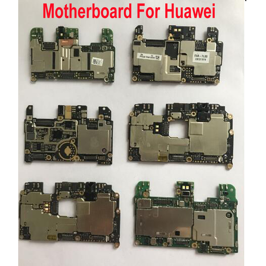 Original Used Test Working Unlock Mainboard For Huawei P9 Mate 8 Honor 8 Honor 9 Motherboard Main Board Card Fee Chipsets