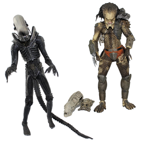NECA Alien VS Predator Tru Exclusive 2 PACK PVC Action Figure Toy