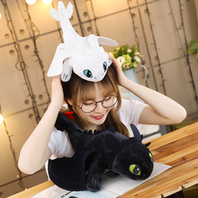 Hot style 25cm How to Train Your Dragon 3 plush Toys Toothless light Fury Anime Figure Night Plush Doll Toy Children