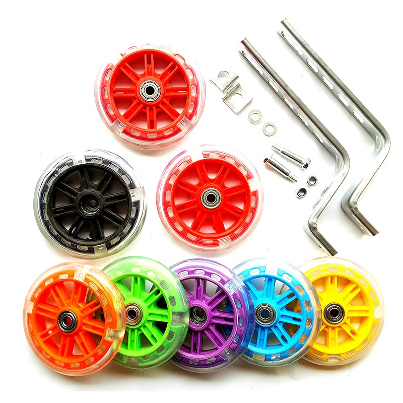Universal Kids Bike Training Wheels 12 20 Inch Balance Auxiliary Wheel Mute Flash Auxiliary Wheel Kid Bicycle Accessories Bicycle Wheel Aliexpress