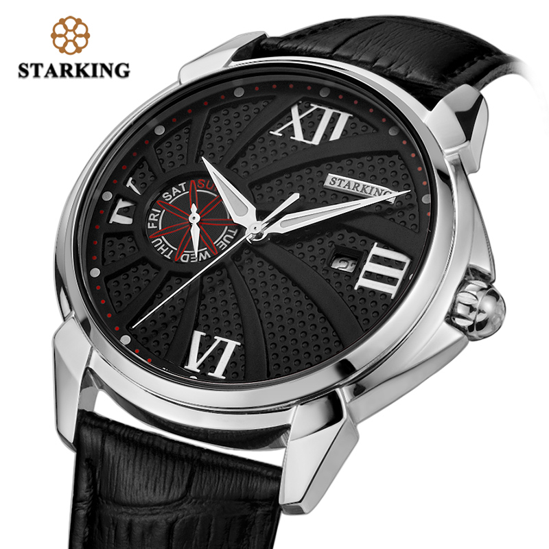 STARKING Original Brand Fashion Men's Watch Quartz Watch Men Waterproof Wrist watch Military Clock Relogio Masculino weide original brand sports military watch men fashion quartz wrist watch pu band 30m waterproof multifunctional sale items