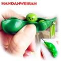 1 pieza nuevo divertido creativo juguetes para niños judías verdes mini squeeze diversión juguete descompresión aliviar el aburrimiento pequeño juguete colgante