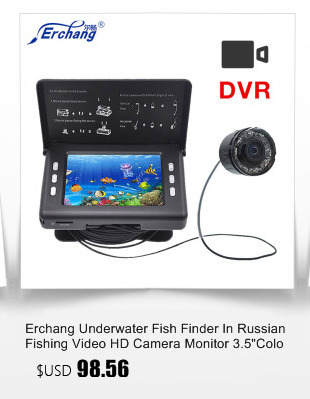 """Erchang """" Подводный Камера для рыбалки 360 Вращающийся Подводная охота Камера 20 м кабель управляемо искатель рыбы"""