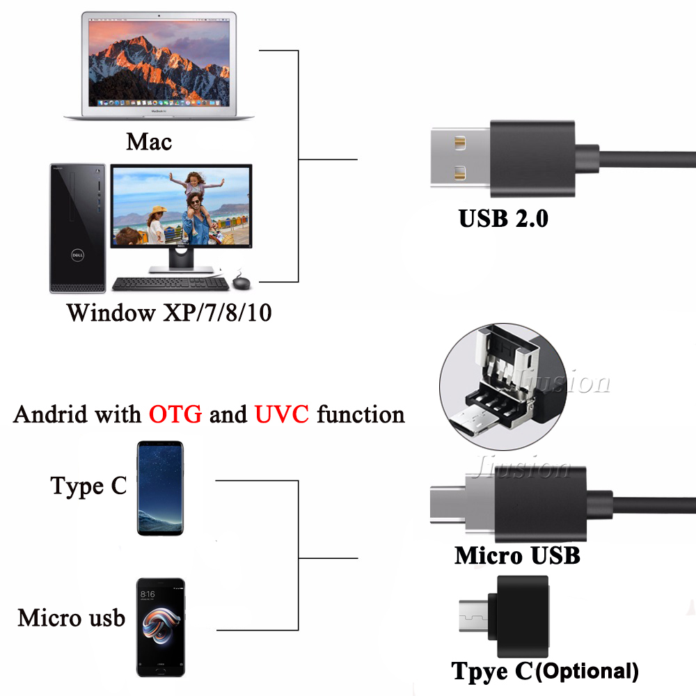 US $15 99 30% OFF 1600X USB Digital Microscope Handheld Mini Camera  Soldering Stereo Electronic Endoscope Stand for Samsung Android Windows  Mac-in