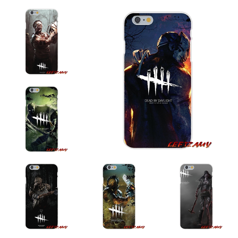 For HTC One M7 M8 A9 M9 E9 Plus U11 Desire 630 530 626 628 816 820 horror Dead by Daylight Flexible Transparent TPU Cases Covers