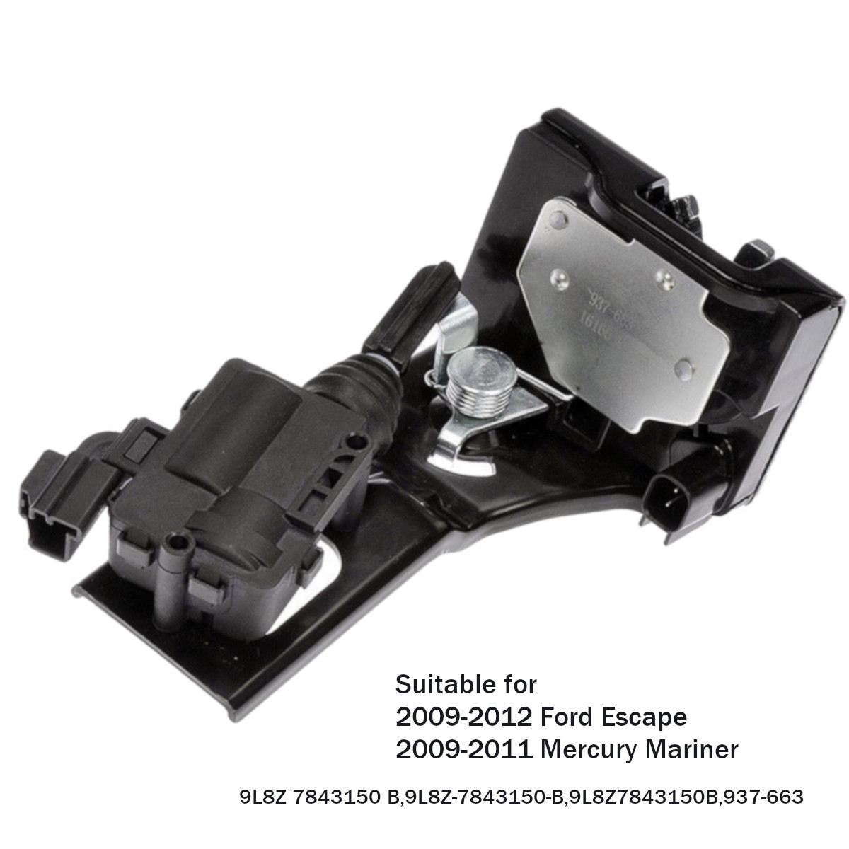 Багажника замки защелки привод для Ford Escape для Mercury Mariner 2009-2012 9L8Z7843150B 9L8Z 7843150 B/937- 663