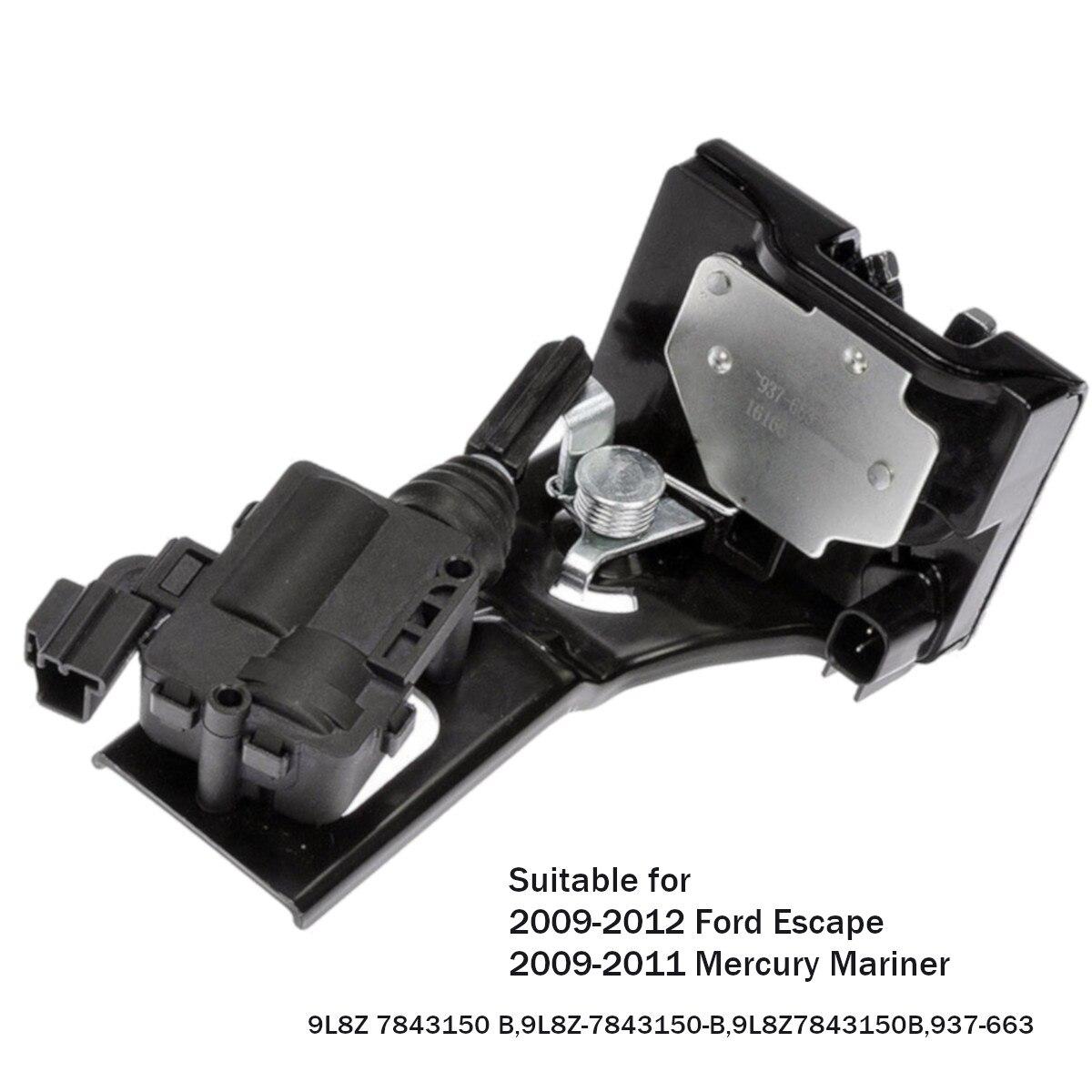 Багажника замок привод замка для Ford Escape для Mercury Mariner 2009-2012 9L8Z7843150B 9L8Z 7843150 B/937-663