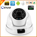 Indoor Outdoor H.265 IP Camera FULL HD1080P 2MP HI3516D +1/2.7'' AR0237 ONVIF 2.0 3.6MM Lens Metal Case Anti-proof  Camera IP