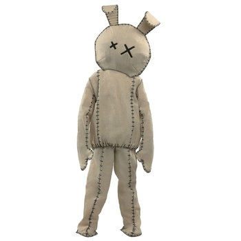 Beastly Lifeless Plush Bunny Child Costume Monstrous Lonely Rabbit Scare People On Halloween