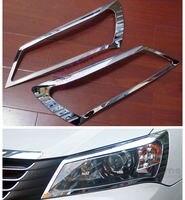 Geely Emgrand 7 EC7 EC715 EC718 Emgrand7 E7 Car Headlight Decorative Frame Car Accessories Car Sticker