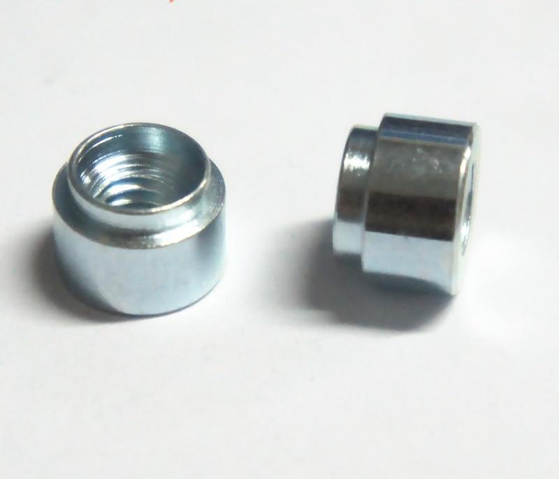 100 шт./лот z-m3 M4 M5 M6-1, 2 Давление Клепка Гайка/pem self-клинч орехи/углеродистая сталь с белым меднение