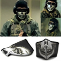 Hot Skull Spike in half face shield wind and dust protection mouth cheek cold ski caps riding CS quality Neoprene ski mask A2