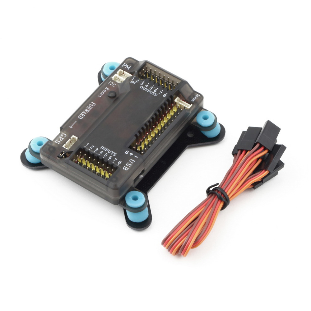 new APM 2.8 Flight Controller Board ARDUPILOT MEGA 28  with Shock Absorber For Multicopter f14586 b apm 2 8 apm2 8 rc multicopter flight controller board compass