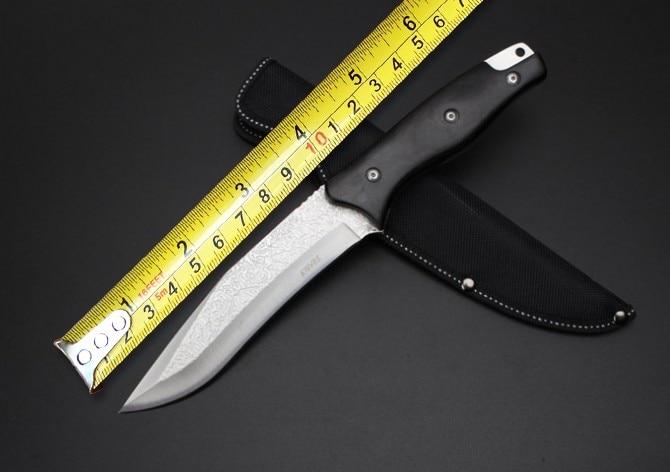 New SR SR S037 Camping font b Tactical b font font b Knife b font 5Cr13Wov
