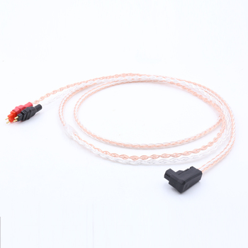 1.2M Free shipping RSA/ALO Silver Plated 5N OFC Cable For HD580, HD600, HD650 Headphone Upgraded cable