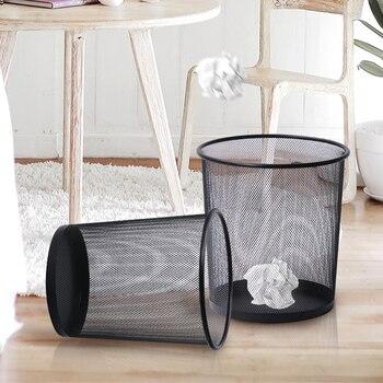 2 размера/набор корзина для мусора с сеткой мусорная корзина с открытым верхом корзина для отходов для офиса, дома, школы, школы, бумажный мус...
