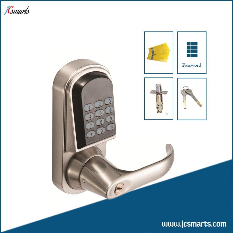 Digital door keypad electronic door locks residential combination door locks with M1 card reader