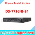 DS-7716NI-E4 NVR 16ch 4 SATA support 4HDD supporting alarm, no POE NVR for CCTV camera