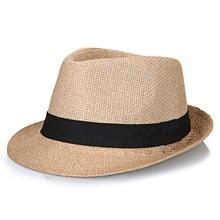 Big Bone Man Large Size Fedora Hats Male Summer Outdoors Pan