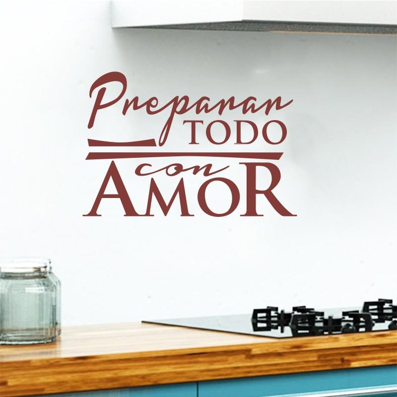 Αυτοκόλλητα Κουζίνα Ισπανικά - Διακόσμηση σπιτιού - Φωτογραφία 5