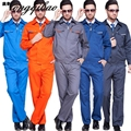 Men 's clothing long - sleeved suit works site welding repair garments overalls