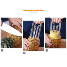 Stainless Steel blade 360 Corer Pineapple Peeler Ring Blades Slicer Magic Trio Cutter ananas cutter