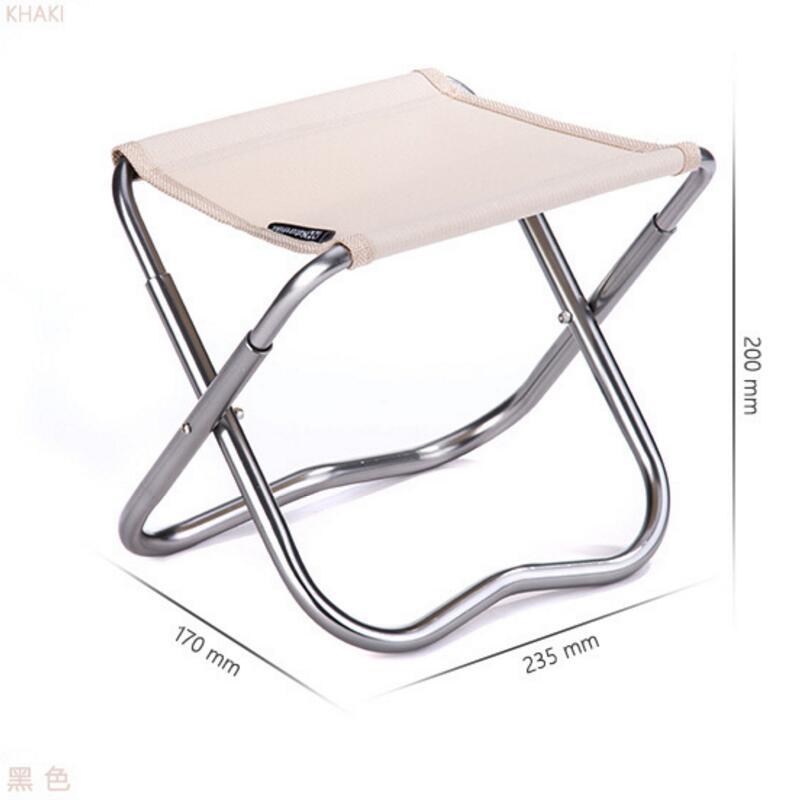 De haute qualité chaise pliante portable poney tabouret loisirs petit bord tabouret peinture et blanchisserie de pêche en plein air tabouret chaise de plage dans Chaises de plage de Meubles