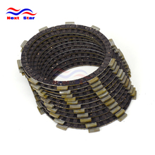11 Pcs Motorcycle Engine Parts Clutch Friction Plates Fit For DUCATI 848 08 09 10 848 EVO 10 11 12 13 14 15 16 Street Bike New