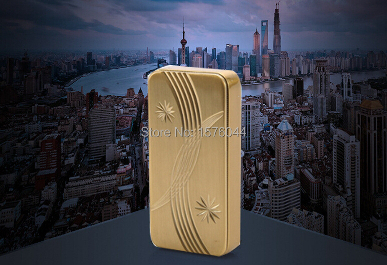 1PC Fast charging thin convenient electronic cigarette lighter drawing surface carved top windproof USB lighter E4081