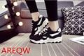 2016 Estilo Del Resorte Del Otoño de Las Mujeres Respirables Ocasionales Zapatos de Lona de la Mujer Zapatos de Plataforma zapatos de Mujer Chaussure Femme