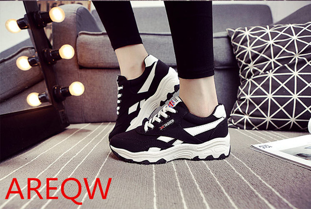 2016 Spring Autumn Style Breathable Women Casual Shoes Woman Canvas Platform Shoe Zapatos Mujer Chaussure Femme