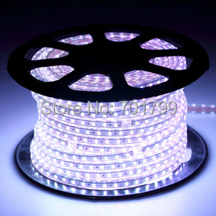 220v 230v 240v high voltage smd 5050 led strip flexible rope light power plug 60led m ip65 14 4w. Black Bedroom Furniture Sets. Home Design Ideas