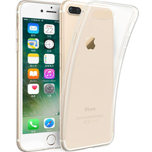 ZUCZUG Clear Silicone Case for iPhone 5 5S SE 7 6 6S Plus Ultra-thin Lightweight Soft TPU Slim Fit Crystal Protective Cover