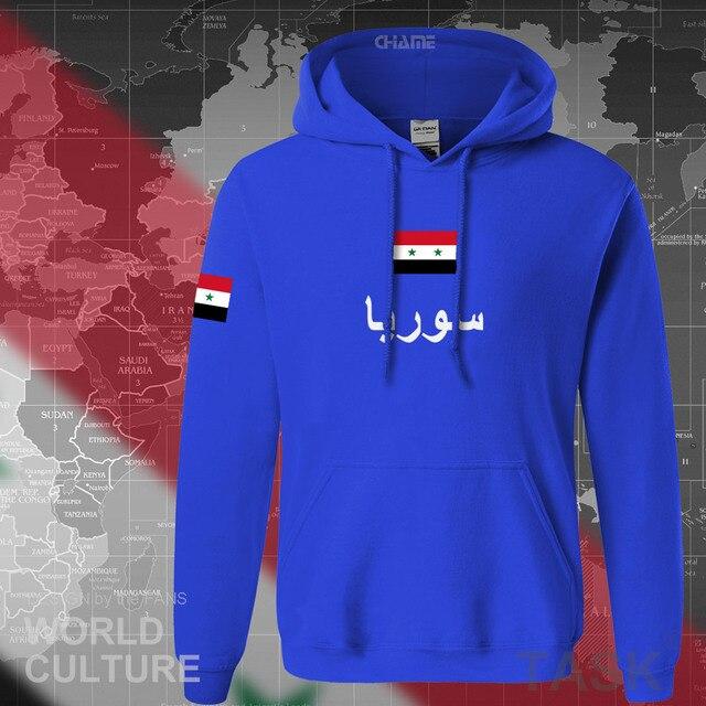 Syrian Arab Republic Syria hoodies men sweatshirt sweat new hip hop streetwear tracksuit nation footballer sporting SYR Arabic 2