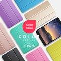 Цвет Смарт-Чехол Для Xiaomi Mipad 2 Ультра-тонкий Складной Интеллектуальный Флип PU Кожаный Чехол С Крышкой Кристалл