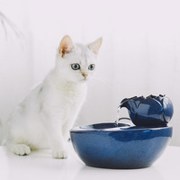 Economical Cat Ceramic Water Fountain Automatic Pet Drinking Fountain Quiet Electric Water Dispenser ds99
