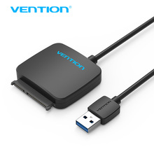 Vention Sata to USB 3.0 Adapter Cable Hard Disk Driver SSD USB To Sata HDD Converter with Power Adapter for IOS Win7 Win8 Win10