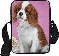 Марка оригинал животных сумка для девочки милый французский бульдог повседневная креста тела сумка дамы испания женщины дизайнер bolsos mujer