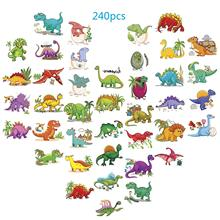 METABLE 240 Pack(Pack of 30 Sheets) Dinosaur Temporary Tattoos,  Tattoos Kids Boys Birthday Party