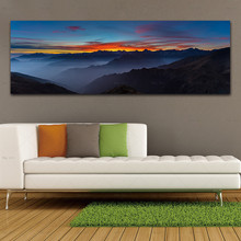 Home Decor Picture Abstract art Posters and Prints Landscape Canvas Painting Wall Pictures for Living Room wall art canvas painting 3d flower picture posters and prints golden flowers poster wall pictures for living room home decor