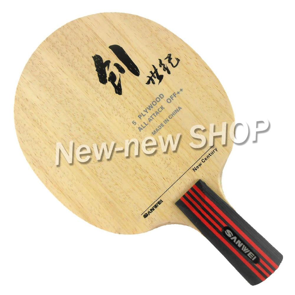 Sanwei CS (New Century) Table Tennis (PingPong) Blade