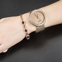 GUOU Watch Luxury Diamond Women Watches Fashion Casual Auto Date Ladies Quartz Watch Stainless Steel Clock saat relogio feminino