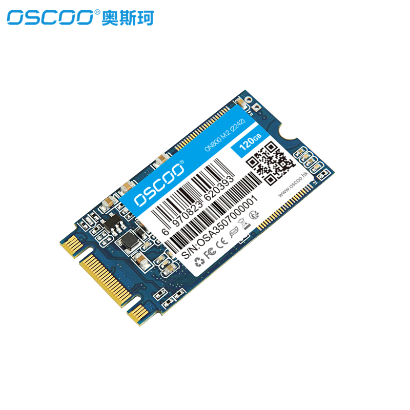 M.2 Internal SSD OSCOO SATA III M.2 2242 60GB 120GB 240GB 480GB Internal Solid State Drive for Notebooks Tablets and Ultrabooks