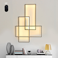 Umeiluce Free Shipping LED Wall Lamp Wall Sconces Designer Lighting Rectangle Aluminium Living Bed Room Stairs Wall Light