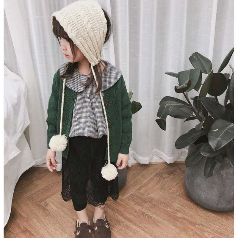 c44b17a24 ... Spring Autumn Kids Cardigans Sweaters for Girls Boys Knitted Outerwear Jacket  Toddler Cotton Coat Solid Color ...